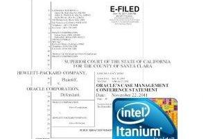 Affaire Itanium : Selon Oracle, HP a pay� Intel pour maintenir le processeur