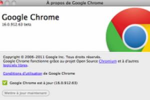 Google livre Chrome 16 et corrige 15 vulnérabilités