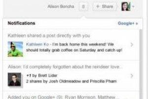 Google + simplifie la gestion des flux d'informations