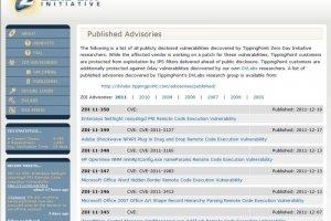HP, IBM et Microsoft trop lents � corriger les failles Zero-Day