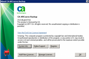 CA Technologies int�gre le paiement � l'usage pour son offre ARCserve