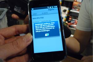 Paiements mobiles : lente �volution attendue en 2012