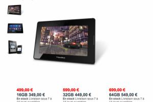 Pour vendre leurs tablettes, Rim et Sony baissent les prix