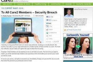 Le réseau social Care2 obligé de réinitialiser 18 millions de mots de passe