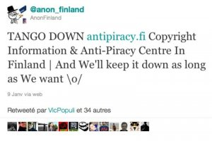 Le blocage de The Pirate Bay conduit les Anonymous à lancer une attaque DDOS