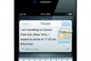 TomTom intègre la navigation sur Facebook et Twitter