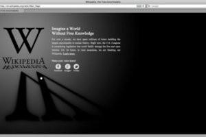 Rideau noir sur plusieurs sites web pour protester contre SOPA et PIPA