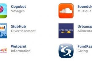 Facebook personnalise les boutons pour les applications tierces