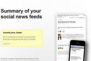 Twitter acquiert Summify, agr�gateur d'actualit�s sur les m�dias sociaux