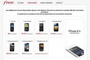 Free Mobile reporte l'ouverture de sa boutique en ligne