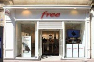 Free Mobile compte ouvrir une centaine de boutiques en 2012
