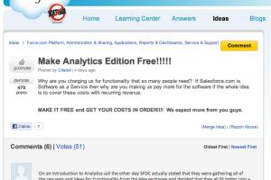 Salesforce.com : les clients ne veulent pas payer les fonctions BI