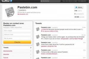 Pastebin, le site vitrine des hackers, subit des attaques DDOS