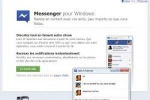 Facebook Messenger arrive pour Windows
