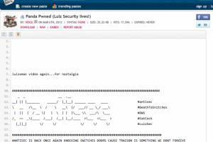 Le site de Panda Security défiguré par des hackers