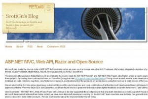 Microsoft passe ASP.NET Web Pages et ASP.Net Web API sous licence Apache 2.0