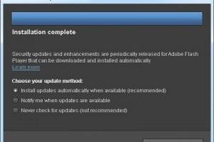 Adobe intègre une mise à jour automatique en corrigeant Flash Player