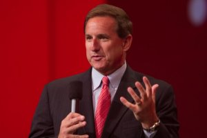 Mark Hurd, coprésident d'Oracle, expose sa vision de l'analyse décisionnelle