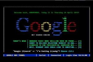 Essayer Google en mode BBS