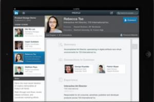 LinkedIn débarque sur l'iPad