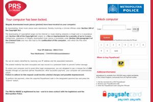 Un malware exige un paiement pour débloquer les PC