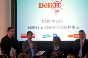 D�fi H : AmiWheelchair r�compens� pour l'innovation technique
