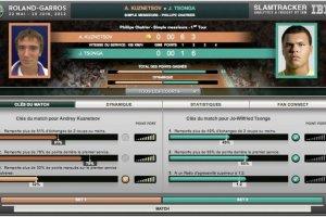 IBM soumet le tournoi de Roland-Garros � l'analyse pr�dictive