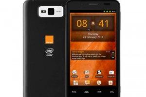 San Diego, le 1er smartphone Intel vendu en Europe par Orange
