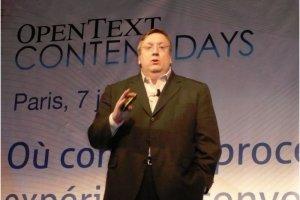 OpenText g�re tous les contenus d'entreprise, de la num�risation au search