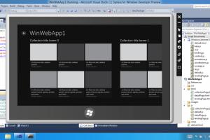 Microsoft encourage les d�veloppeurs � cr�er des applications Windows 8 Metro