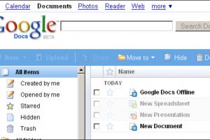 Un mode offline pour Google Docs