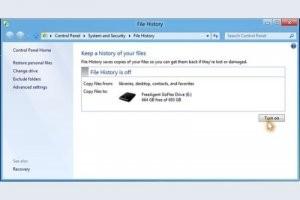 Windows 8 se dote d'une solution de back-up automatique