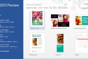Microsoft dévoile le prochain Office 2013