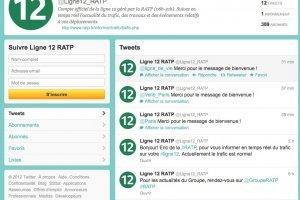 Pour informer les usagers exaspérés, la RATP ouvre 4 fils Twitter