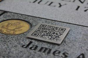 Des QR codes sur les tombes de nos cimeti�res