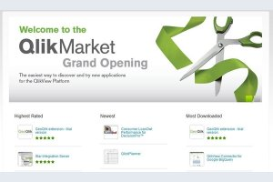 QlikTech d�voile sa boutique applicative