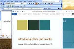 Office 2013 pour PC et tablettes attendue en novembre