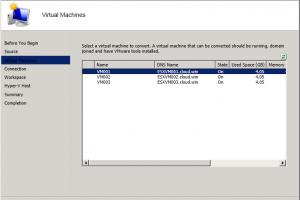 Un outil Microsoft pour convertir des VM vSphere vers Hyper-V