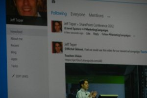 SPC 2012 : Microsoft détaille l'intégration de Yammer à SharePoint