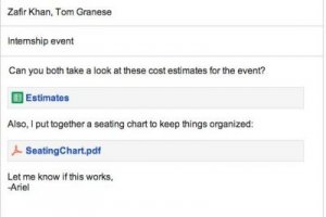 Avec Google Drive, Gmail supporte jusqu'à 10 Go de pièces jointes