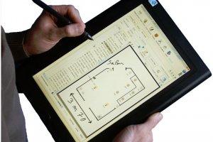 Un bureau mobile sur tablette pour le SAV, les chantiers et les devis