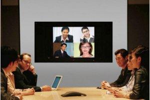 Le marché de la vidéoconférence continue de baisser
