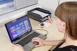 CES 2013 : un kit développeur Tobii pour piloter son PC avec les yeux