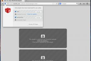 Mozilla d�sactive automatiquement les extensions dans Firefox