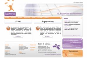 Itamsys filialise son offre d'IT Management as a service pour les PME