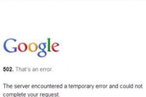 Succession de pannes pour Google Drive