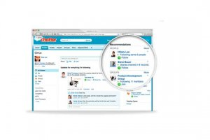 Salesforce.com concocte une recherche d'expertise via Chatter