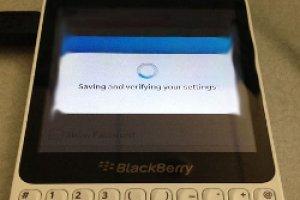 Premi�re image d'un Blackberry low cost ?