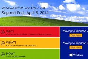 Microsoft avertit sur la fin proche du support de Windows XP