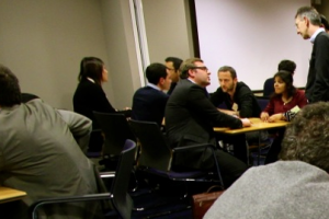 L'espace de start-up de Microsoft accueille un speed dating
